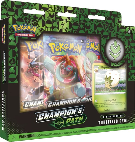 Champions Path - Turffield Gym Pin Collection (Ships 9/25)