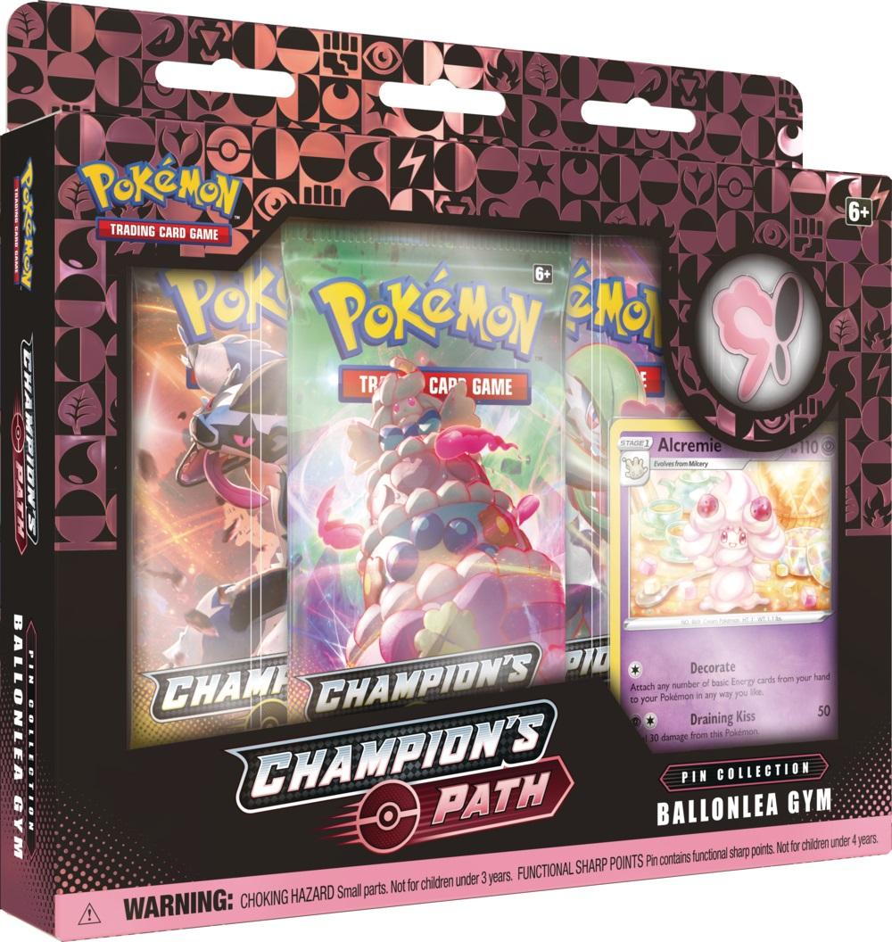 Champions Path - Ballonlea Gym Pin Collection