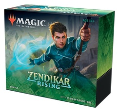 Magic the Gathering MtG Zendikar Rising Bundle Fat Pack