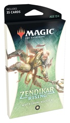 Magic the Gathering MtG Zendikar Rising Theme Booster - White