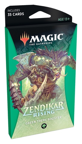 Zendikar Rising Theme Booster - Green