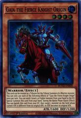 Gaia the Fierce Knight Origin - ROTD-EN000 - Super Rare - 1st Edition