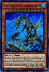 Gizmek Okami, the Dreaded Deluge Dragon - ROTD-EN032 - Ultra Rare - 1st Edition