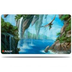 Ultra Pro - Zendikar Rising - Playmat for Magic The Gathering - Riverglide Pathway