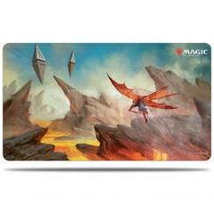 Ultra Pro - Zendikar Rising - Playmat for Magic The Gathering - Lavaglide Pathway