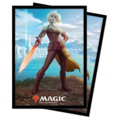 Ultra Pro - Zendikar Rising: Standard Deck Protector sleeves 100ct for Magic: The Gathering - Nahiri, Heir of the Ancients