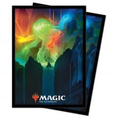 Ultra Pro - Zendikar Rising: Standard Deck Protector sleeves 100ct for Magic: The Gathering - Omnath, Locus of Creation