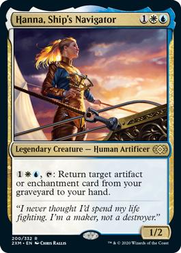Hanna, Ships Navigator