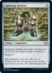 Lightning Greaves - Foil