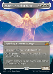 Avacyn, Angel of Hope (Borderless) - Foil