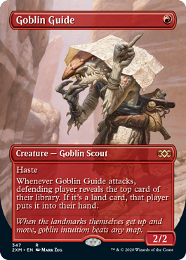 Goblin Guide - Foil - Borderless