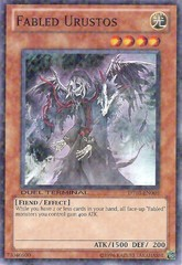 Fabled Urustos - DT03-EN008 - Duel Terminal Normal Parallel Rare - 1st Edition