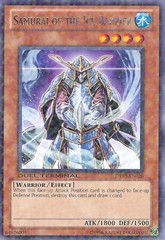 Samurai of the Ice Barrier - DT03-EN026 - Duel Terminal Rare Parallel Rare - 1st Edition