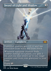 Sword of Light and Shadow (Borderless) - Foil