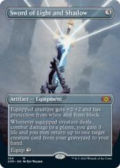 Sword of Light and Shadow - Foil - Borderless