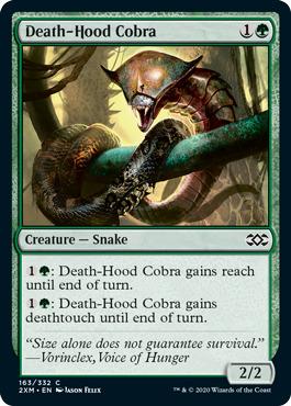 Death-Hood Cobra - Foil
