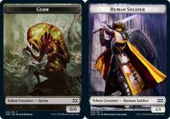 Germ Token // Human Soldier Token - Foil