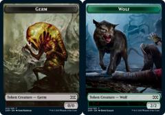 Germ Token // Wolf Token - Foil