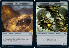 Treasure Token // Wurm Token (029) - Foil