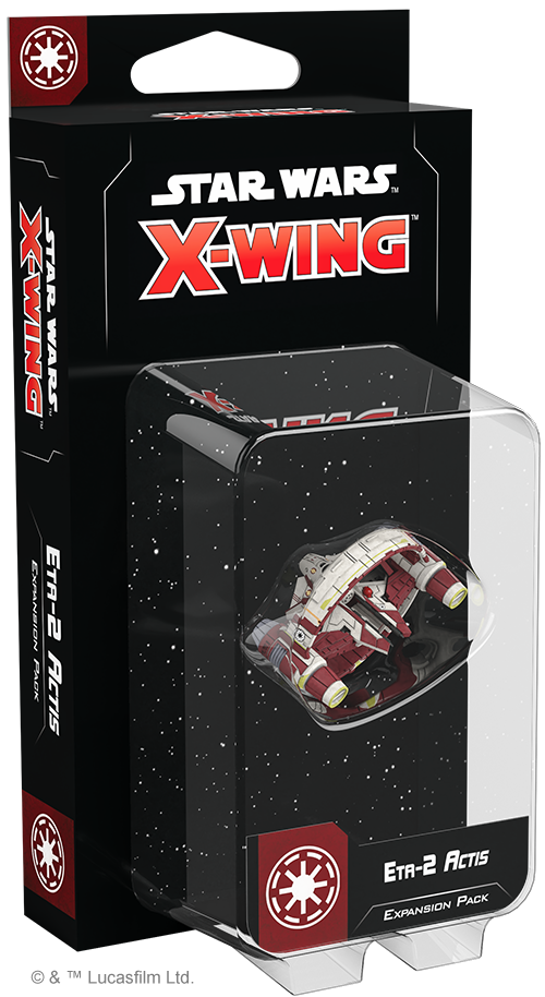 Star Wars X-Wing - 2nd Edition - Eta-2 Actis Expansion Pack