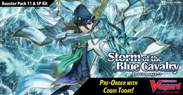 V Booster Set 11: Storm of the Blue Cavalry Booster Pack