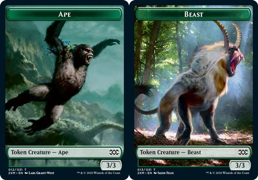 Ape Token // Beast Token - Foil