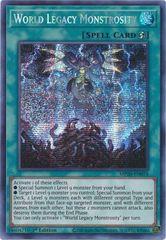 World Legacy Monstrosity - MP20-EN076 - Prismatic Secret Rare - 1st Edition