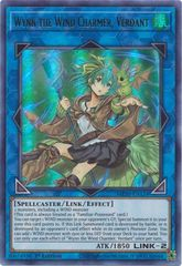 Wynn the Wind Charmer, Verdant - MP20-EN124 - Ultra Rare - 1st Edition