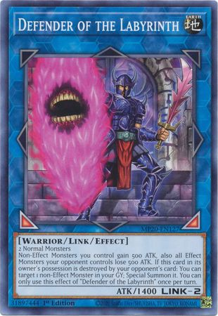 Defender of the Labyrinth - MP20-EN127 - Common - 1st Edition