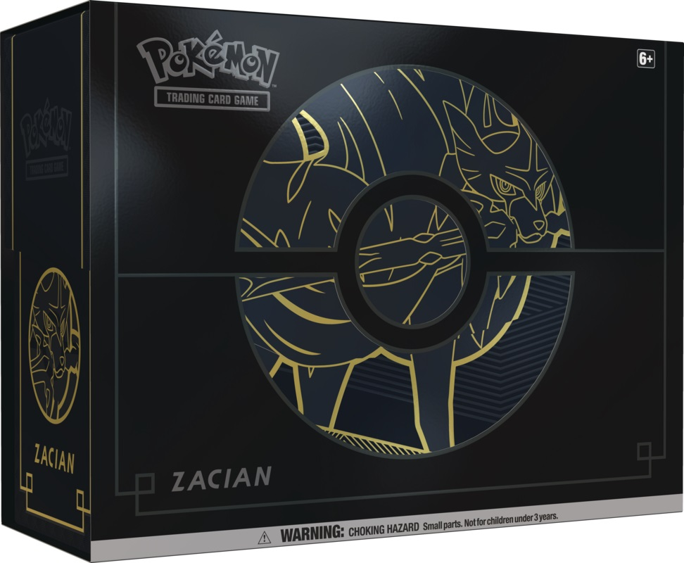 Sword & Shield - Vivid Voltage Elite Trainer Box Plus - Zacian