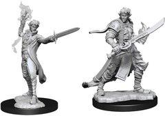 Pathfinder Battles Unpainted Minis - Male Elf Magus