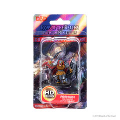 Icons of the Realms - Premium Figures: Dragonborn Male Fighter (Wave 1) Sealed