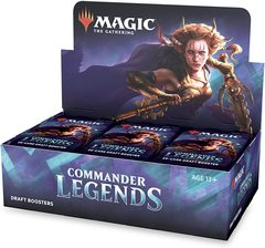 Commander Legends Booster Box RELEASE DAY 11-20-20