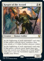 Keeper of the Accord - Foil