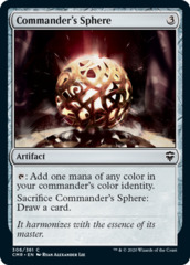 Commander's Sphere - Foil