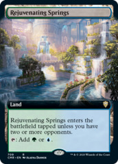 Rejuvenating Springs - Foil - Extended Art