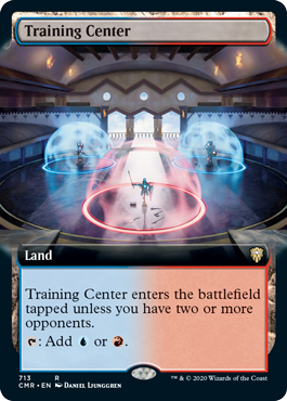 Training Center - Foil - Extended Art
