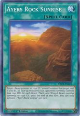 Ayers Rock Sunrise - DLCS-EN022 - Common - 1st Edition