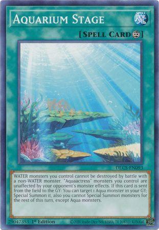 Aquarium Stage - DLCS-EN093 - Common - 1st Edition