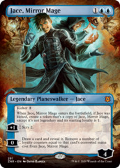 Jace, Mirror Mage (281) - BORDERLESS