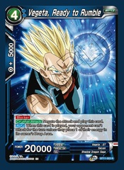 Vegeta, Ready to Rumble - BT11-053 - R - Foil
