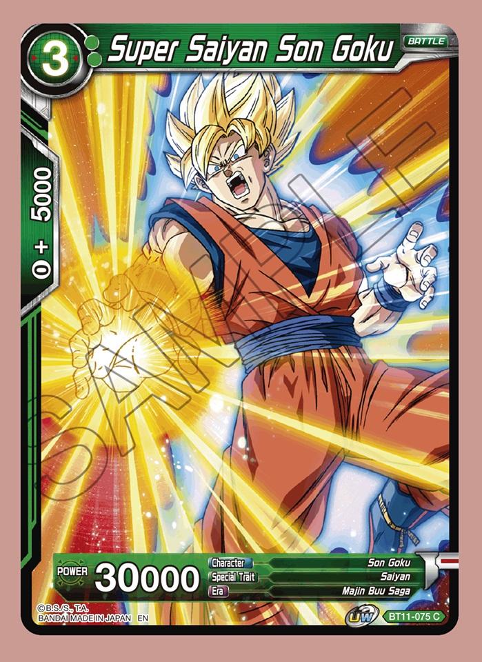 Super Saiyan Son Goku - BT11-075 - C - Foil