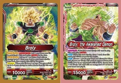 Broly // Broly, the Awakened Demon - BT11-002 - UC - Foil