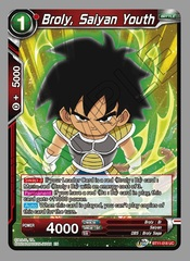 Broly, Saiyan Youth - BT11-018 - UC - Foil