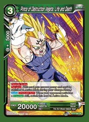 Prince of Destruction Vegeta, Life and Death - BT11-067 - UC