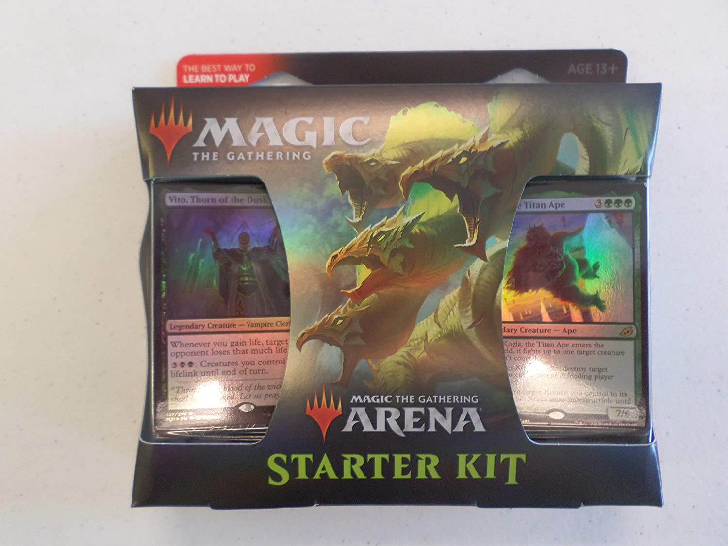 Arena Starter Kit - Ironscale Hydra Cover with Vito and Kogla cards