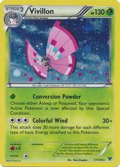 Vivillon (Meadow[Pink]) - 17/146 - Cosmos Holo