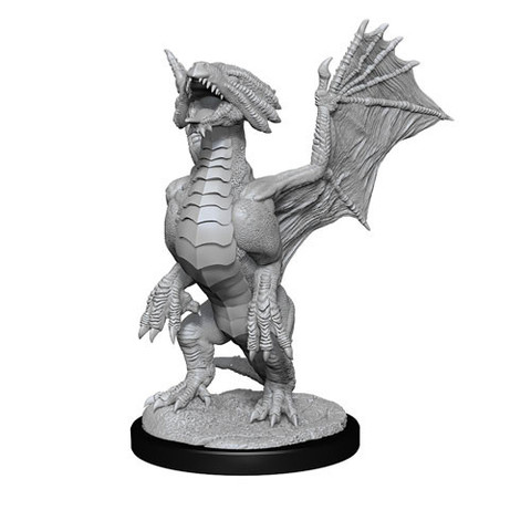 Dragon, Bronze (Wyrmling) & Pile of Sea Found Treasure (90152)