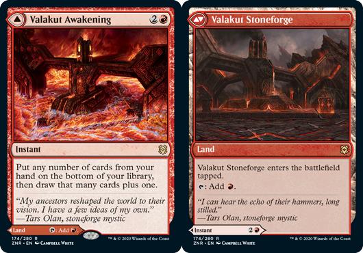 Valakut Awakening // Valakut Stoneforge