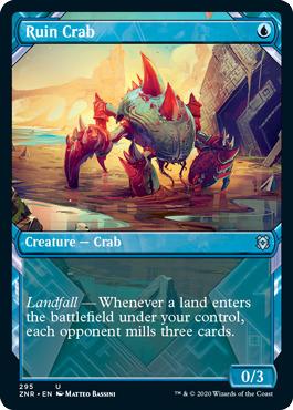 Ruin Crab - Foil - Showcase